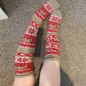 Accessories - NWOT Fair Isle Over the Knee Socks